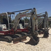 Takeuchi 10 and 11 TB228 Mini Excavator