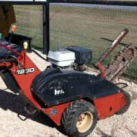 Ditch Witch Walk Behind Trencher 1330H